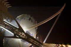 Stad van Kunsten en Wetenschap, Valencia Stock Foto's