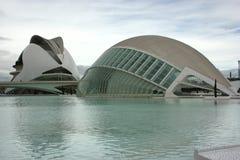 Stad van Kunsten en Wetenschappen Stock Foto's