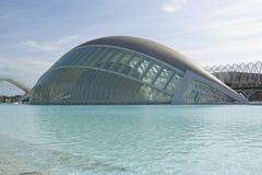Stad van Kunsten en Wetenschappen in Valencia Royalty-vrije Stock Foto's