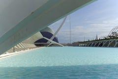 Stad van Kunsten en Wetenschappen in Valencia Stock Afbeeldingen
