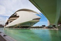 Stad van Kunsten en Wetenschappen in Valencia royalty-vrije stock fotografie