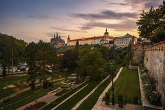 Stad van Kutna Hora in Tsjechische Republiek royalty-vrije stock foto