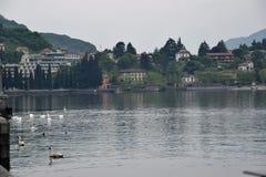 Stad van lecco Stock Foto's