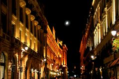 Stad van Licht Stock Fotografie