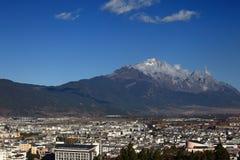 Stad van Lijiang Stock Foto