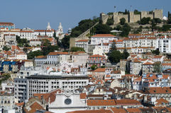 Stad van Lissabon Stock Foto's