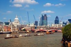 Stad van Londen Royalty-vrije Stock Foto's