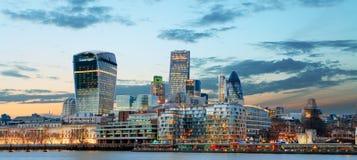 Stad van Londen, het UK Royalty-vrije Stock Afbeelding