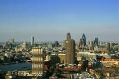 Stad van Londen - panorama Royalty-vrije Stock Foto