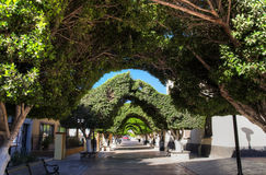 Stad van Loreto, Baja Californië sur, Mexico Royalty-vrije Stock Foto's