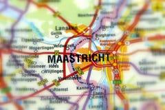 Stad van Maastricht - Nederland stock afbeelding