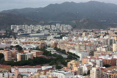 Stad van Malaga Stock Afbeelding