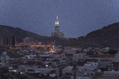 Stad van Mekka Stock Afbeelding