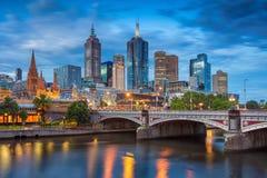 Stad van Melbourne Stock Foto's