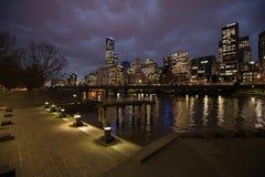 Stad van Melbourne Australië Stock Afbeelding