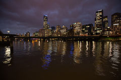 Stad van Melbourne Australië Royalty-vrije Stock Fotografie