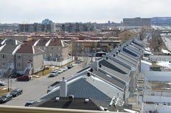 Stad van Montreal, Montreal Nord Canada stock afbeelding