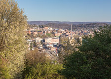 Stad van Morgantown in West-Virginia Stock Fotografie