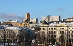 Stad van Moskou Stock Foto's