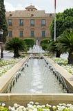 Stad van Murcia in Spanje Stock Foto's