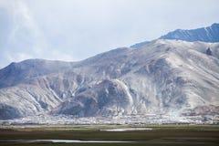 Stad van Murghab, in Tadzjikistan royalty-vrije stock fotografie