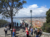 Stad van Nice, Zuid-Frankrijk Stock Foto