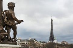 Stad van Parijs Stock Afbeeldingen