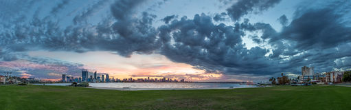Stad van Perth, Westelijk Australië Stock Foto's