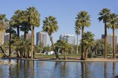 Stad van Phoenix de stad in, AZ Stock Afbeeldingen