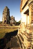 Stad van Phra Mahathat van Wat de historische oude. Thailand Stock Foto