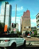 Stad van Pittsburgh Royalty-vrije Stock Foto's