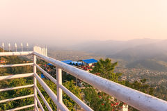 Stad van Pokhara, Nepal royalty-vrije stock foto's