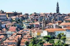 Stad van Porto stock afbeeldingen