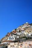 Stad van Positano, Amalfi Stock Afbeeldingen