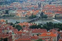 Stad van Praag Stock Foto