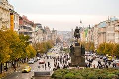 Stad van Praag Stock Afbeeldingen
