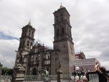 Stad van Puebla, Puebla DE Los Angeles - Mexico stock fotografie