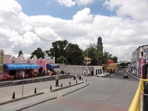 Stad van Puebla, Puebla DE Los Angeles - Mexico royalty-vrije stock fotografie