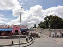 Stad van Puebla, Puebla DE Los Angeles - Mexico stock afbeelding