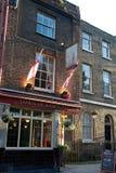 Stad van Ramsgate bar, Wapping, Londen Stock Afbeelding