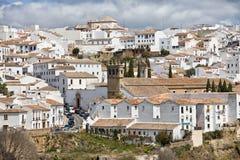Stad van Ronda in Spanje Royalty-vrije Stock Afbeelding