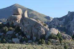 Stad van Rotsen Nationaal Domein, Idaho Royalty-vrije Stock Afbeelding