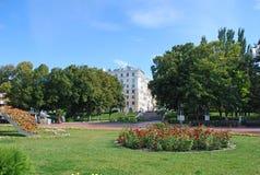 Stad van Samara Het landschap van de stad Royalty-vrije Stock Foto
