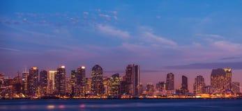 Stad van San Diego Californië stock fotografie