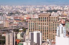 Stad van Sao Paulo Stock Afbeeldingen