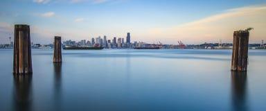 Stad van Seattle Stock Afbeeldingen