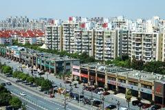 Stad van Shanghai stock afbeeldingen