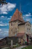 Stad van Sighisoara het bastion Royalty-vrije Stock Foto's