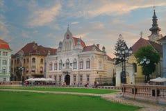 Stad van Timisoara in Roemenië Stock Afbeeldingen