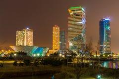 Stad van Toekomstige Songdo royalty-vrije stock afbeeldingen
